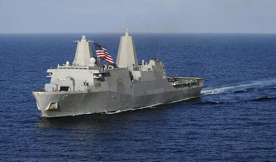 曝美国军舰要闯进南海中国领海
