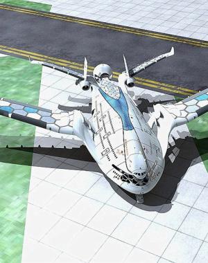 国外超概念民用高速机