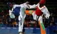 科特迪瓦首金!跆拳道男子80kg谢赫绝杀夺冠