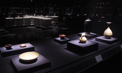 耀州博物馆举办《山东窑历代陶瓷精品展》-中铝制散热器图片