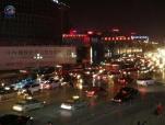 郑州二七广场附近昨晚堵疯 一小时走5米