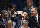 马云联合国大会玩自拍
