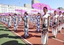 六千人同穿旗袍破纪录