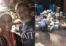 美国大叔45年屯粮70桶 飓风过后他挽救全镇灾民
