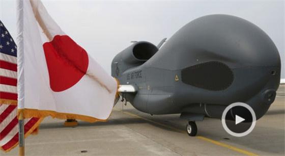 """美""""全球鷹""""部署日本 或為監視朝鮮"""