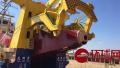 中国新型万吨级多功能舰下水 亚洲第一世界第三!