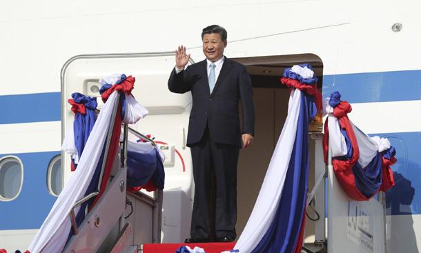 习近平出席APEC第二十五次领导人非正式会议并访问越南、老挝