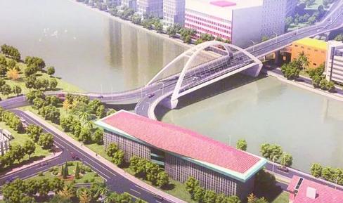 中国援建马尼拉帕西格河大桥原桥主跨平移拆除