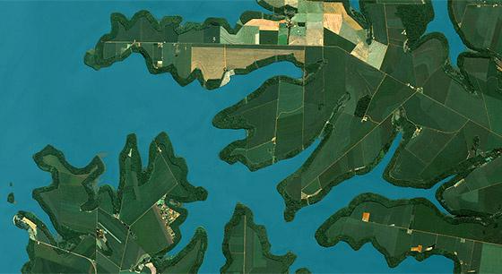 世界各地衛星圖像