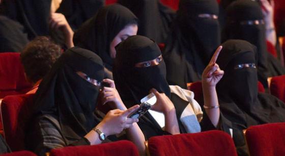 沙特35年来首次解禁电影院 发放许可证