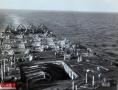 惨不忍睹!二战美航母遭袭击甲板报废