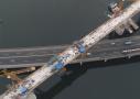 高铁大桥跨高速