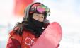 单板滑雪邱冷首秀:收获很多期待北京冬奥