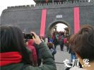 """扬州古城的""""城门春联""""成了朋友圈最年味背景"""
