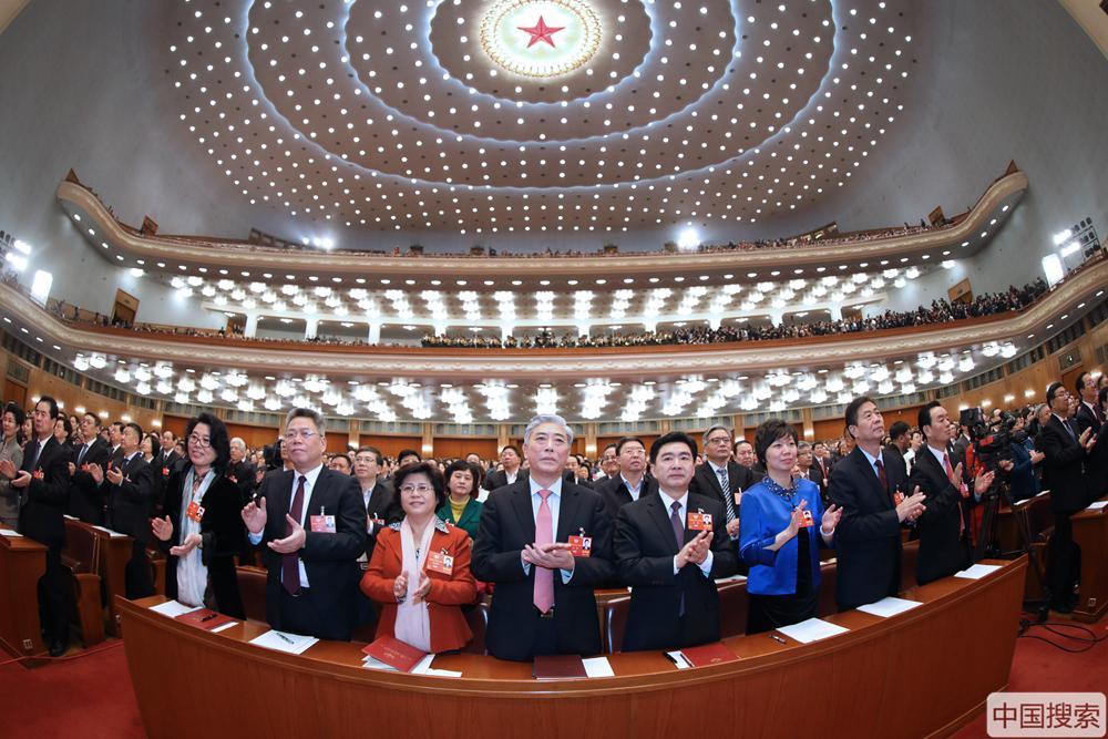 北京pk10冠亚和值口诀:携手新时代 创造新辉煌――全国政协十三届一次会议开幕侧记