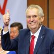 捷克总统泽曼宣誓就职