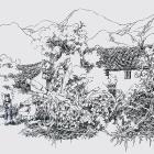 李红文速写风景作品欣赏