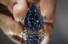 欧洲王室收藏的6.16克拉蓝钻首次拍卖