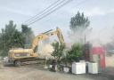 济南最大单体违建群开拆 14万平方米再生棉市场5天拆完