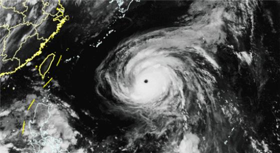 """第8号台风""""玛莉亚""""来势汹汹"""