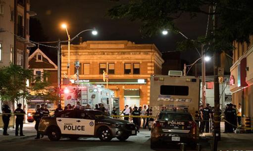 加拿大多伦多发生枪击事件造成1人死亡、13人受伤