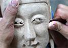 毛南族傩面雕刻传人
