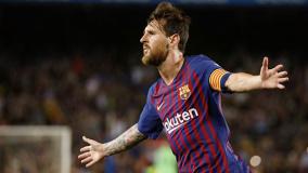 西甲综合:梅西二度建功 巴萨获联赛开门红