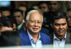"""马来西亚前总理纳吉布因卷入""""一马案""""调查被捕"""