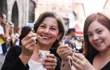 """【组图】""""欧洲巧克力节""""在意大利佩鲁贾开幕"""