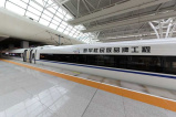 新華社民族品牌工程專列飛馳京滬京廣線