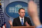 特朗普宣布马尔瓦尼将出任白宫办公厅代理主任