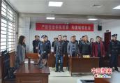 河南新野法院公开宣判一起涉黑案件 4人获刑