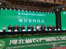 河北农产品加工业发展大会签约项目总投资额达293亿元