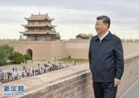 习近平踏访河西走廊:即从京城赴边城,便下肃州向甘州