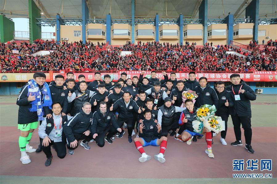 (体育)(2)足球——中超:河南建业胜广州富力