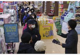 韩国新冠病毒感染病例数量再增334例