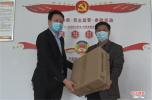 外出创业心系家乡 叶县小伙为老家学子捐赠防疫物资