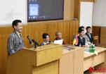 中国藏文化交流团与基辅国立大学师生进行交流活动