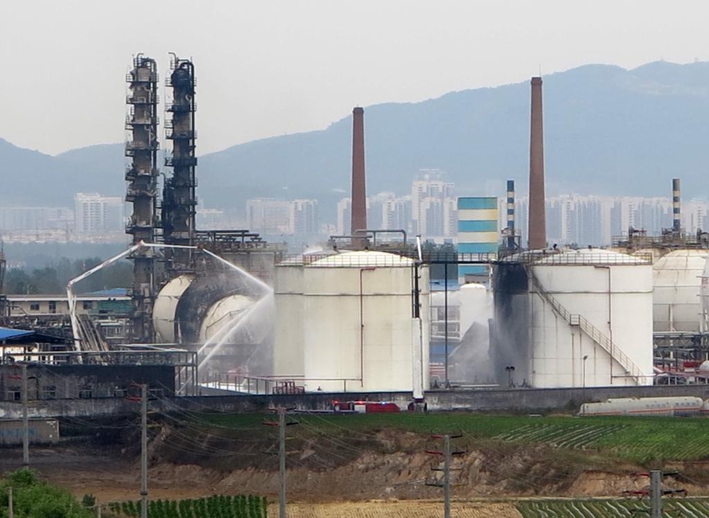 临沂一化工企业发生爆炸事故造成8人死亡