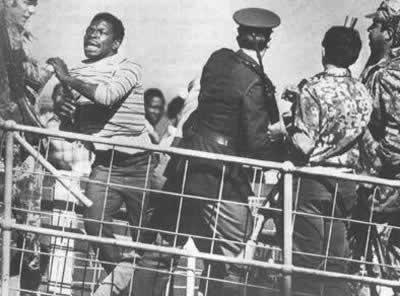 南非索韦托发生大规模骚乱(历史上的今天.com)
