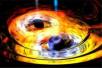 """借助射电望远镜,天文学家首次""""看""""到了双黑洞绕行"""