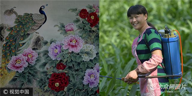 菏泽绘画村农民年赚5个亿