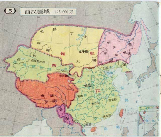 中国/分布图