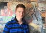 英14岁天才画家 小莫奈 办个人画展身价超千万