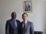 驻几内亚比绍大使金红军会见几比总统府民办主任萨格纳