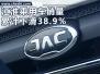 江淮现有SUV面临换代 1-7月销量骤降38.9%