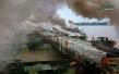 舟桥部队26分52秒构筑横跨长江主航道浮桥