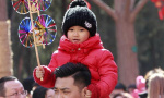 北京大年初一逛庙会