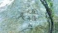 """连云港云台山""""即林园""""遗址附近发现清代石刻"""
