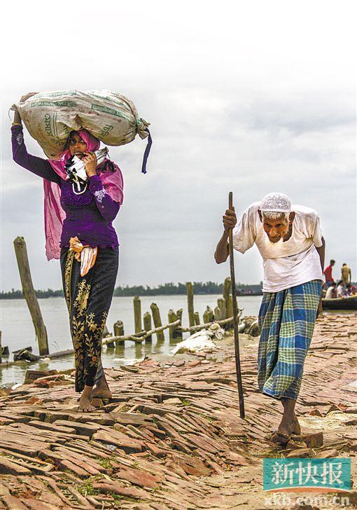 联合国:37万罗兴亚难民从缅甸逃到孟加拉国